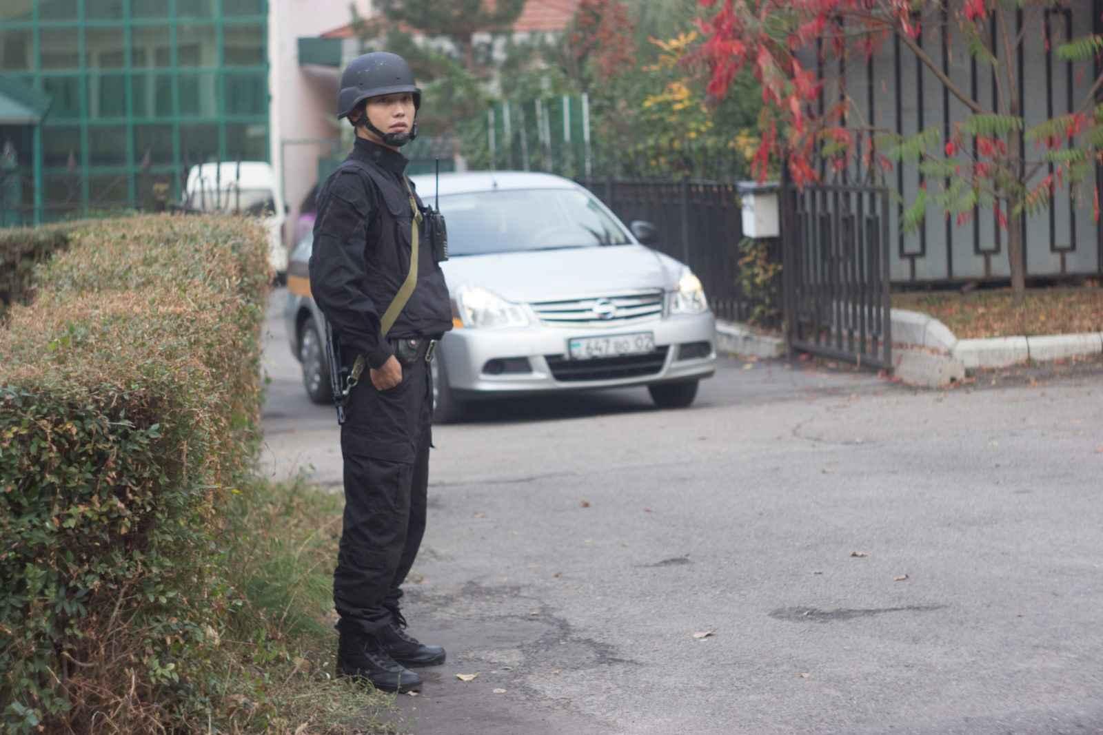 Физическая охрана в Алматы